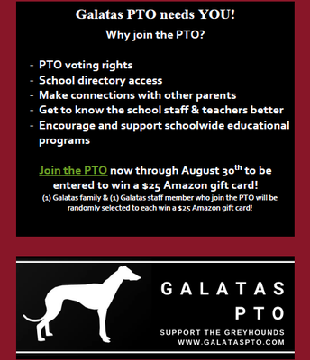 Join PTO!