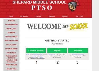 Shepard PTSO Website