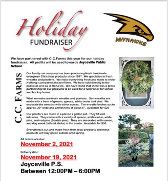 Holiday Fundraiser with C.C. Farms