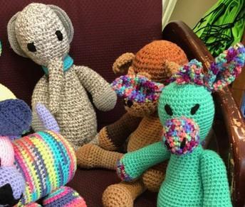 Handmade animals - Senior Center
