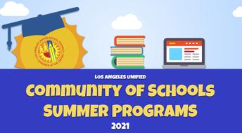 SUMMER SCHOOL / ESCUELA DE VERANO 2021