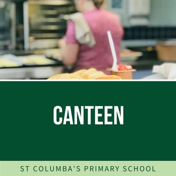 Canteen - Week commencing 1 September