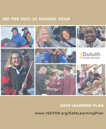 Safe Learning Plan Update August 24