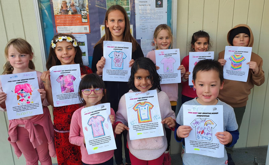 Congratulations to the winners of the Pink T-Shirt Design competition. Awesome creativity!