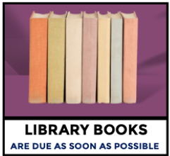 Library Books Are Due