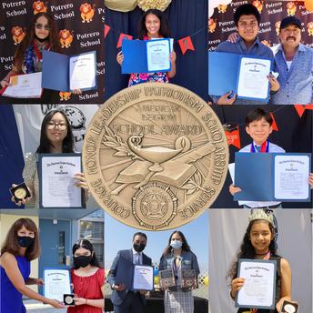 Congratulations to our American Legion School Award Winners