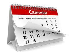 September & October Events