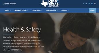 KIPP Texas Health & Safety Guidelines