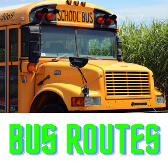 Look up bus routes and stops for your home address