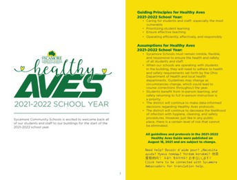 2021-22 Healthy Aves Guide