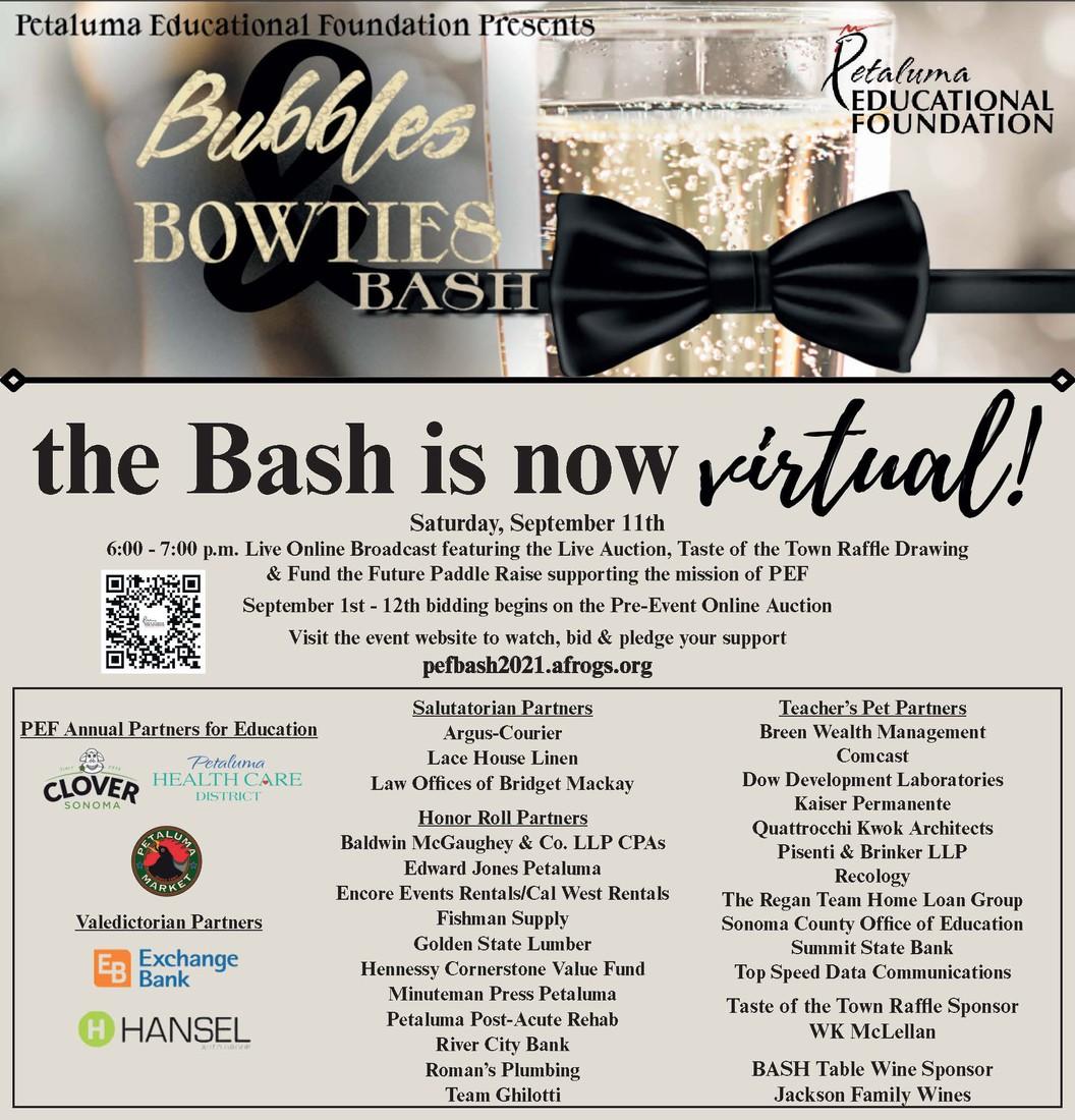 PEF Bubbles & Bowties Bash