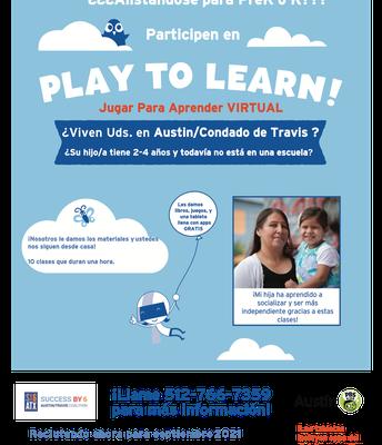 Clase Virtuales para Familias con KLRU
