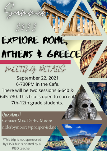 Explore Rome, Athens, and Greece - Summer 2023