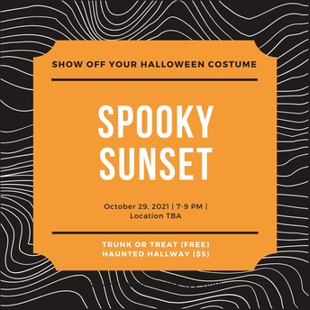 Spooky Sunset- Trunk or Treat Event