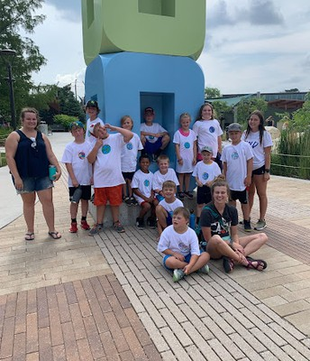 After School Program Goes to the Children's Zoo