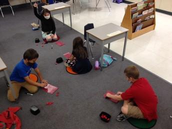 Math & Literacy in Mrs. Donovan's Room