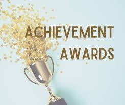 Congratulations to this week's Achievement Award winners: