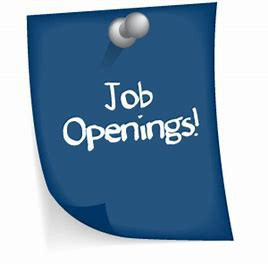 Job Openings in the District!