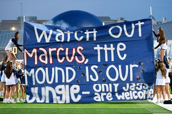 FMHS always go all out to cheer on their football teams!!