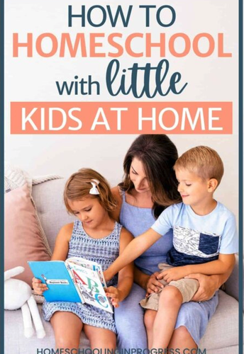 How to Homeschool when You Have Younger Siblings at Home