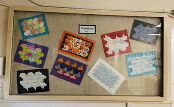 Beautiful Tessellation art work displayed in our office