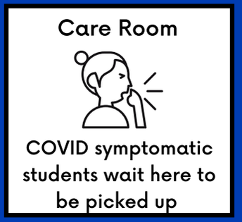 Care Room for Ill Students (Not Nurse's Suite)