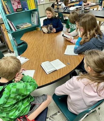 5th grade Book Clubs