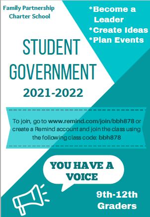 student gov't flyer