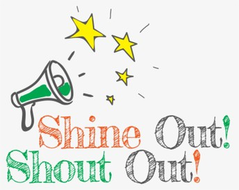 Staff Shout-Outs!!!