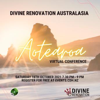 Divine Renovation Aotearoa Virtual Conference - Saturday 16th October