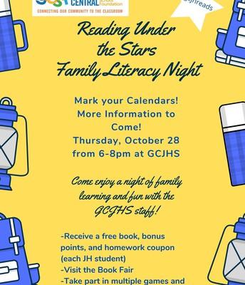 GCJHS Literacy Night