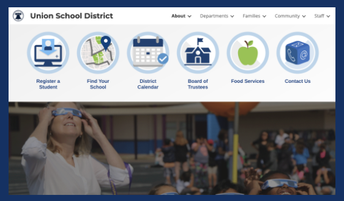 Check out the New District Website Launched   August 5, 2021