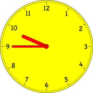 ATTENDANCE TIME: 9:45a.m