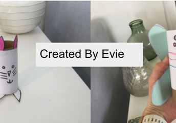 Very creative Evie!