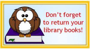 Library Books Return Date- June