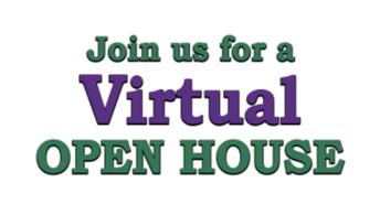 Virtual Open House- Thursday, Sept. 23, 2021
