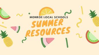Monroe's Summer Resource Site