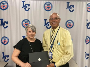 Mrs. Judy Dodd Recognized as Support Staff of the Month