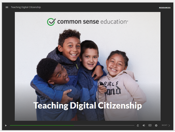 New Self-Paced Digital Citizenship Training by Common Sense!
