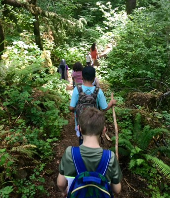 ExCEL students on a hike!