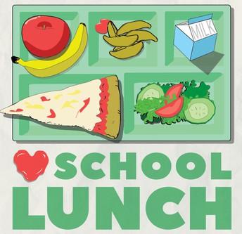 IMPORTANT INFORMATION REGARDING SCHOOL LUNCH