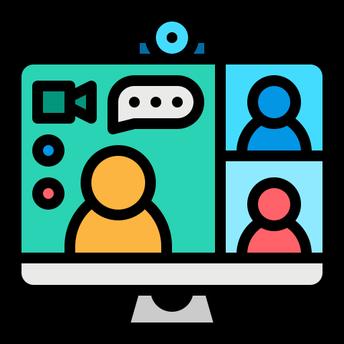 Step 2: Virtual GLC Meeting through Zoom, Google Meet, or WebEx