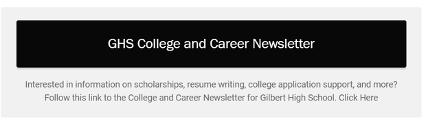 Link to GHS College and Career Newsletter