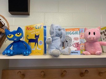 And some of our favorite book characters are waiting for kindergarten friends!