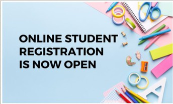 Online Student Registration is Open!