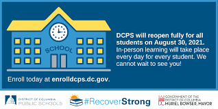 DCPS 21-22 SY RE-OPENING UPDATES
