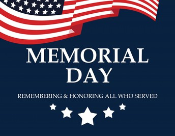 Memorial Day is May 31