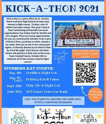 Upcoming Kick-A-Thon Events