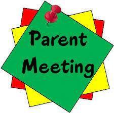 Kindergarten Parent Meeting - 9/7