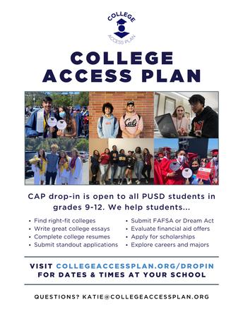 College Access Plan (CAP)